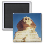 The Sphinx, dating from the reign of King 2 Inch Square Magnet