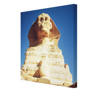 The Sphinx, dating from the reign of King Canvas Print