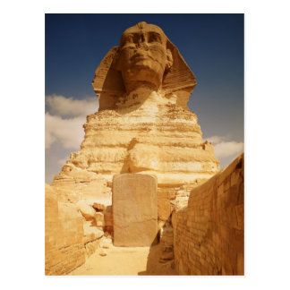 The Sphinx, dating from the reign of King Postcard