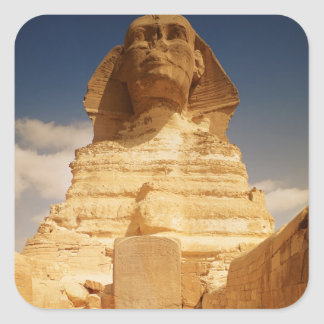 The Sphinx, dating from the reign of King Square Sticker