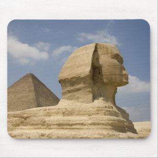 The Sphinx, Giza, Al Jizah, Egypt Mouse Pad