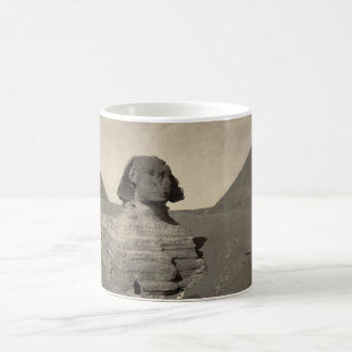 The Sphinx of Giza Partially Excavated Coffee Mug