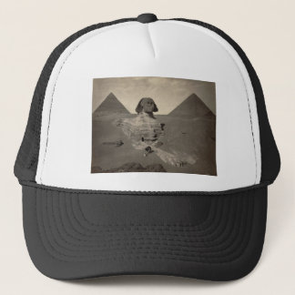 The Sphinx of Giza Partially Excavated Trucker Hat