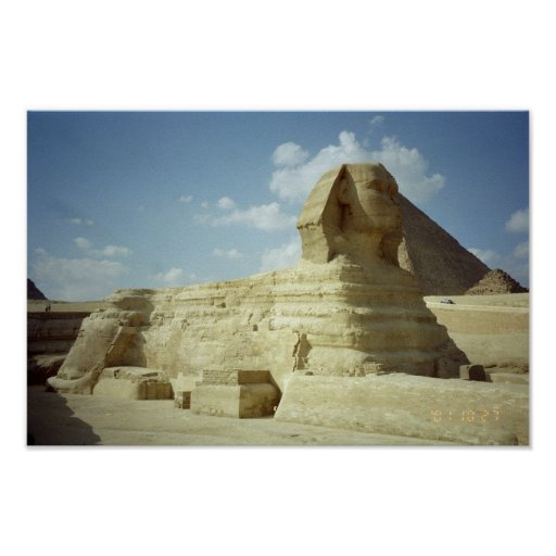The Sphinx Print