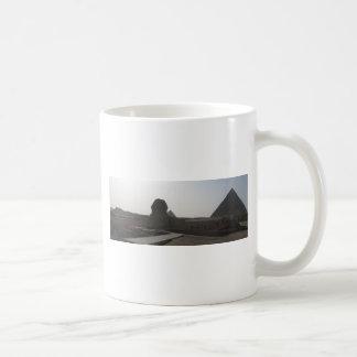 The Sphinx, the Pyramids of Giza Coffee Mug