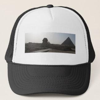 The Sphinx, the Pyramids of Giza Trucker Hat
