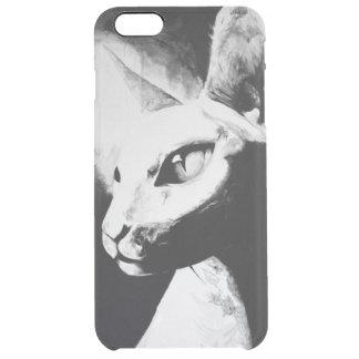 The Sphynx Cat Feline Art iPhone 6+ Clear Case Uncommon Clearly™ Deflector iPhone 6 Plus Case