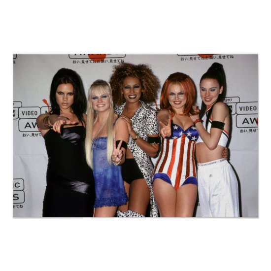 The Spice Girls   1997 MTV Video Music Awards Poster