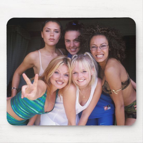 The Spice Girls Photo Shoot Mouse Pad