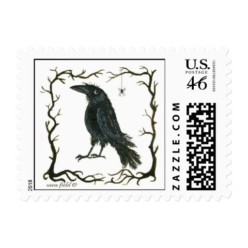 The Spider and the Crow Stamps