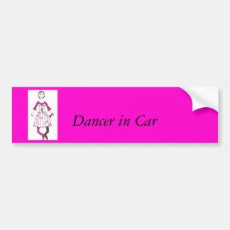 The Spider Ballet Car Bumper Sticker
