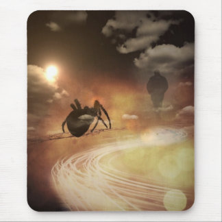 The Spider Bite Mouse Pad