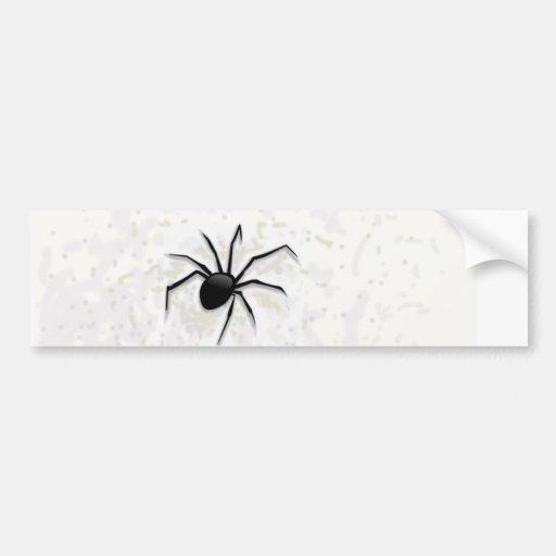 The spider. bumper sticker