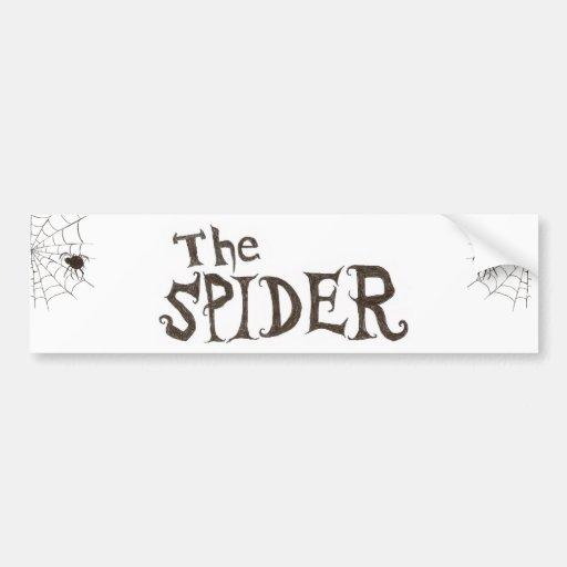 The Spider Bumper Stickers