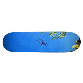 The spider flying skateboard deck