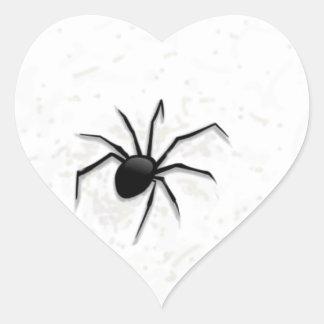 The spider. heart sticker
