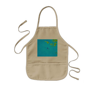 The spider kids' apron