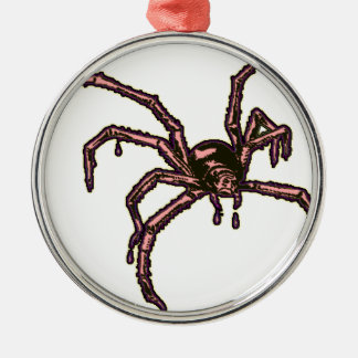 The Spider Metal Ornament
