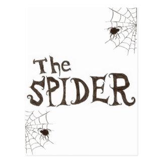The Spider Postcard