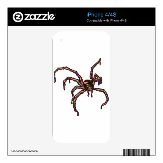 The Spider Skins For The iPhone 4