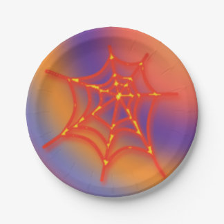 The Spider Web - Paper Plate