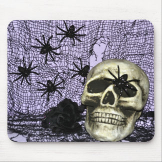 The Spiders and the Skull Mouse Pad