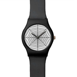 THE SPIDER'S WEB (a black & white design) ~ Watches