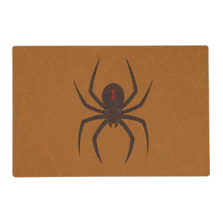 The Spider's Web Laminated Place Mat