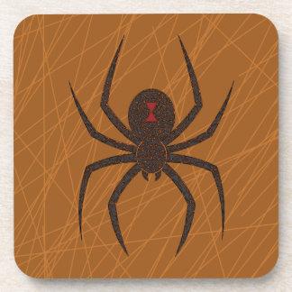 The Spider's Web Square Coaster