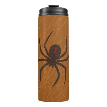Halloween Themed The Spider's Web Thermal Tumbler