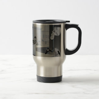 The Spies of Snafu 15 Oz Stainless Steel Travel Mug
