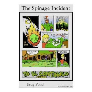 The Spinage Incident  1 Print