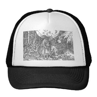 The Spinner by Hans Holbein the Younger Trucker Hat