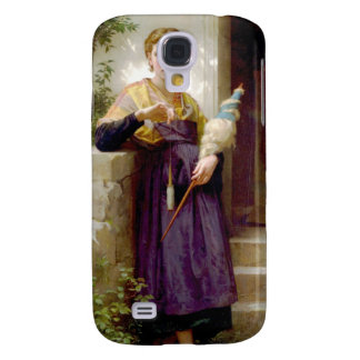 The Spinner William-Adolphe Bouguereau Galaxy S4 Case
