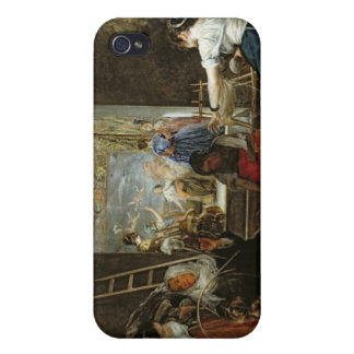 The Spinners, or The Fable of Arachne, 1657 Cases For iPhone 4