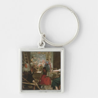 The Spinners or The Fable of Arachne 1657 Keychains