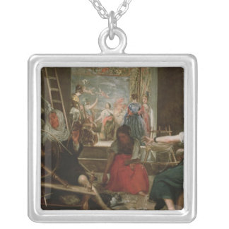 The Spinners or The Fable of Arachne 1657 Custom Necklace