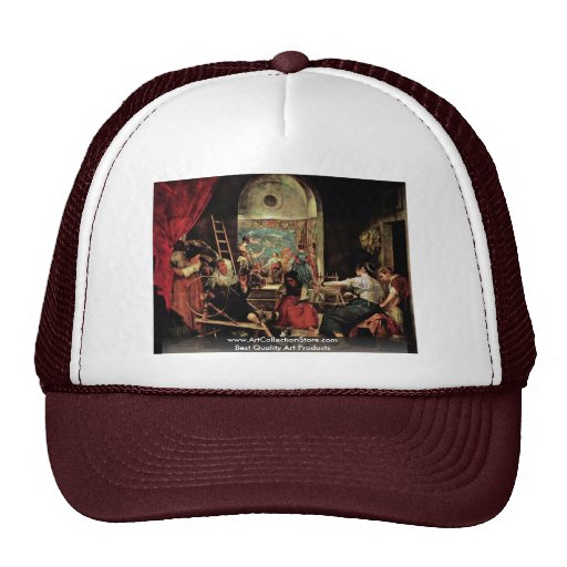 The Spinners (The Fable Of Arachne) Trucker Hat