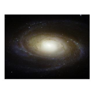The spiral galaxy Messier 81 Postcard