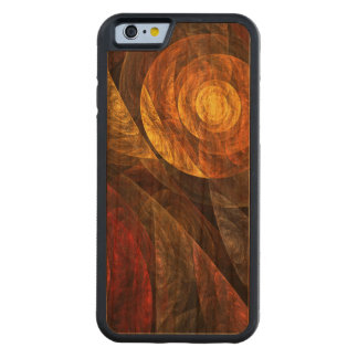 The Spiral of Life Abstract Art Carved® Cherry iPhone 6 Bumper Case