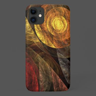 The Spiral of Life Abstract Art Case-Mate iPhone Case