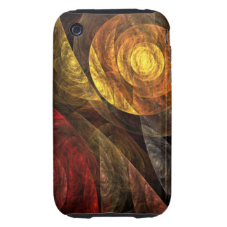 The Spiral of Life Abstract Art iPhone 3G / 3GS Tough iPhone 3 Cover