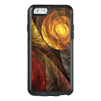 The Spiral of Life Abstract Art OtterBox iPhone 6/6s Case