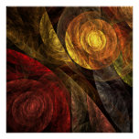 The Spiral of Life Abstract Art Print
