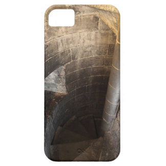 The spiral staircase leading to the top of the iPhone SE/5/5s case