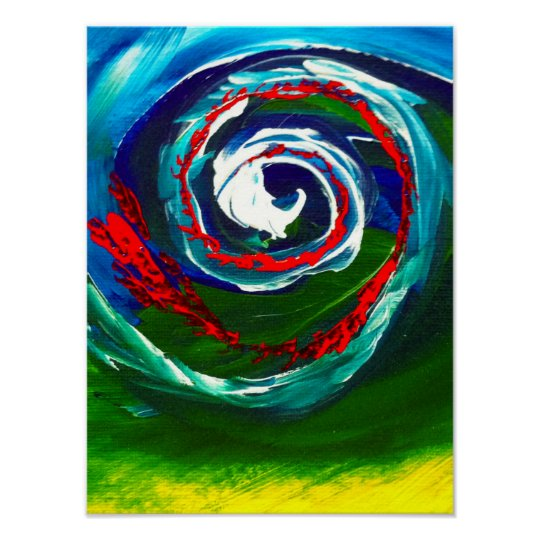 The Spiral Wave of Infinity Poster