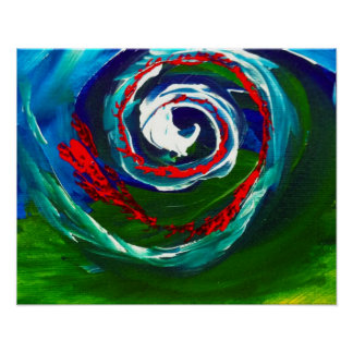 The Spiral Wave of Infinity Print