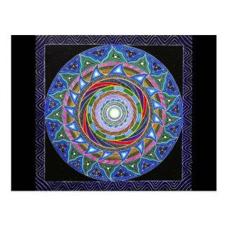 The Spiraling Vortex (postcard) Postcard