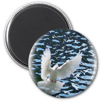 The Spirit and the Water 2 Inch Round Magnet