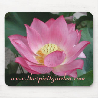 The spirit garden lotus mousepad - Customized